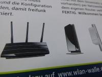 Technische illustration Router